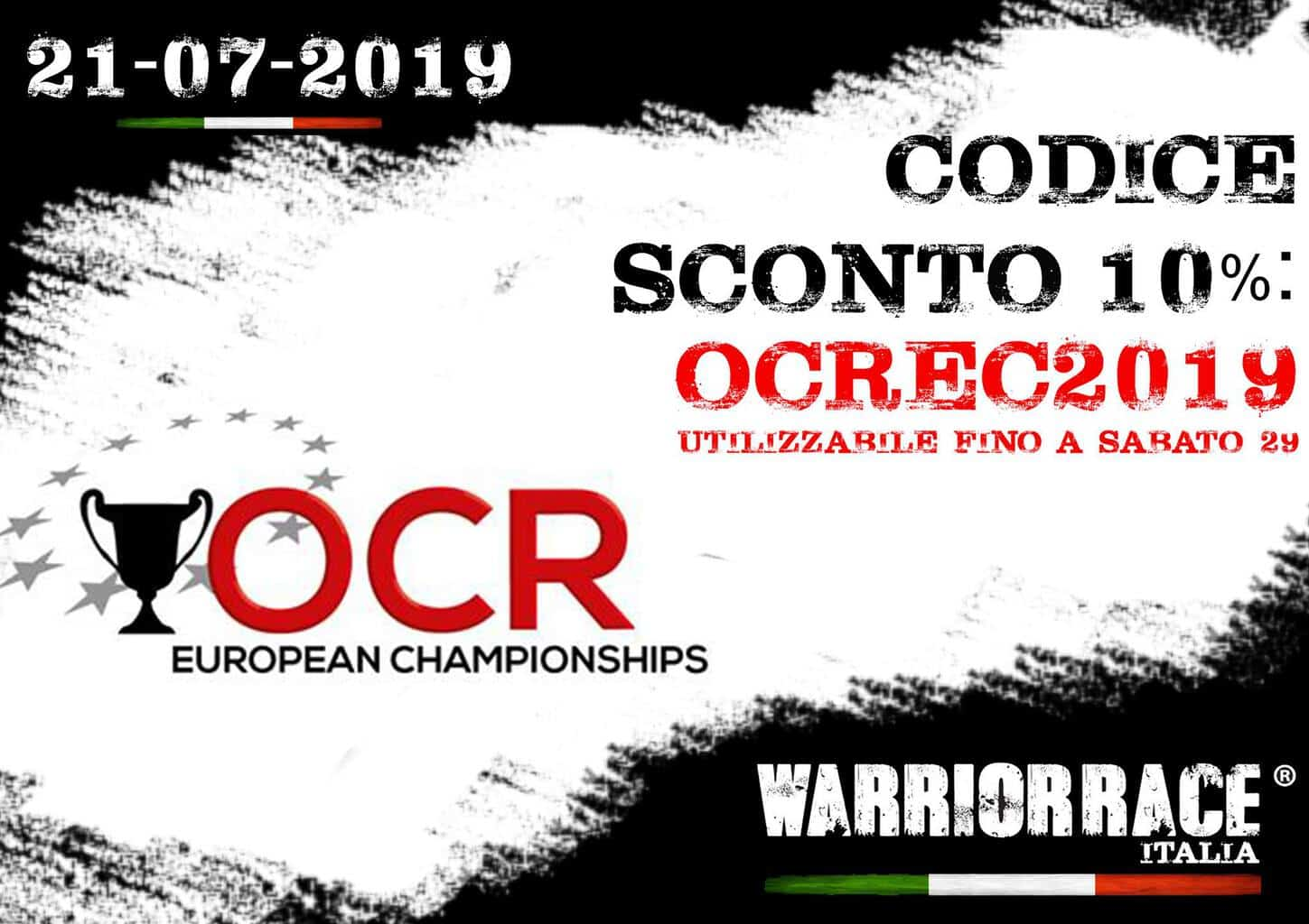 CODICE SCONTO WARRIOR RACE SUMMER 2019